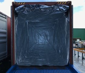 40' Thermal container liner with floor AlphaTherm F002.